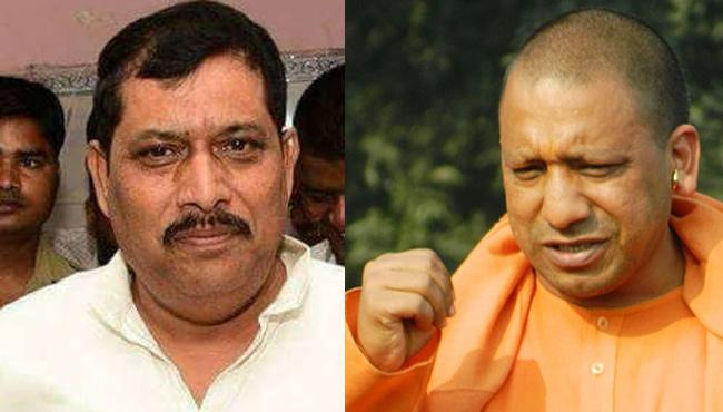 UP BJP MLA Shyam Prakash Targets Yogi Adityanath After Bypoll Defeat - Sakshi