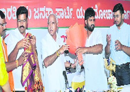 BJP Yeddyurappa Criticize On CM  Kumaraswamy - Sakshi