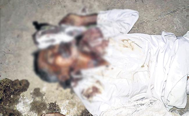Elderly Man Stoned To Death In Sangareddy - Sakshi
