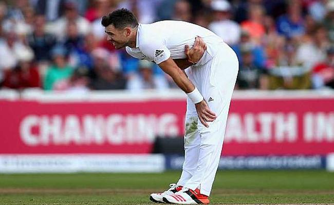 James Anderson out for six weeks to address shoulder trouble - Sakshi