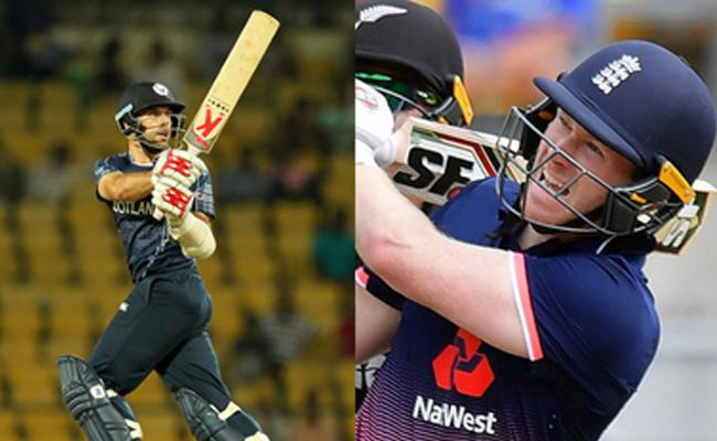 Scotland Set Target To 372 Runs Against  England   - Sakshi