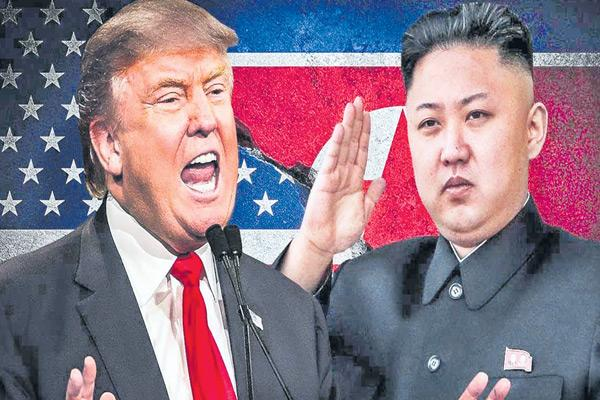 Story about trump and Kim Jong Un  - Sakshi