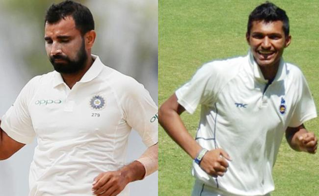 Mohammed Shami Out From India-Afghan Test As Navdeep Saini In - Sakshi