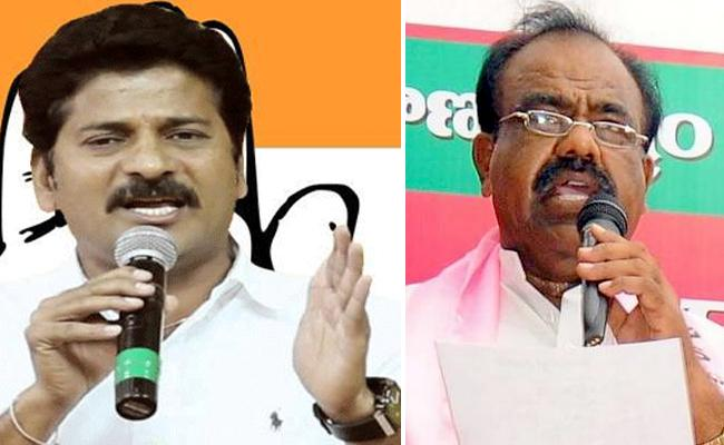 Small Arguments Between Revanth Reddy And Madhusudhana Chary - Sakshi