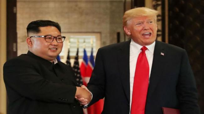 Four Decisions Made In Trump And Kim Jong Un  Meet - Sakshi