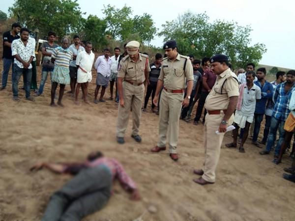 Father And Son Brutally Murdered In Rajanna Sircilla District - Sakshi