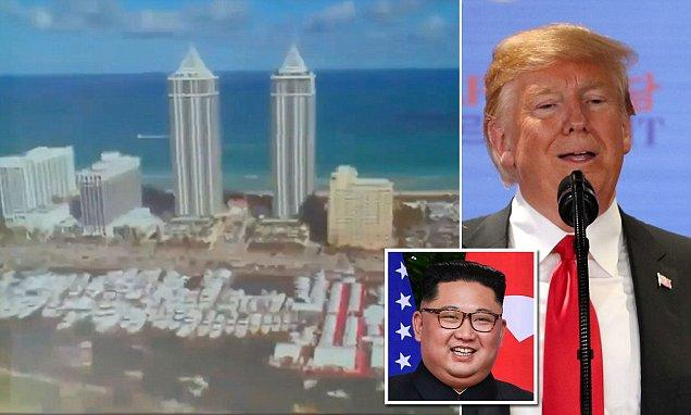 Trump Shows Kim Jong Un A Video That Played Crucial Role In Meeting - Sakshi