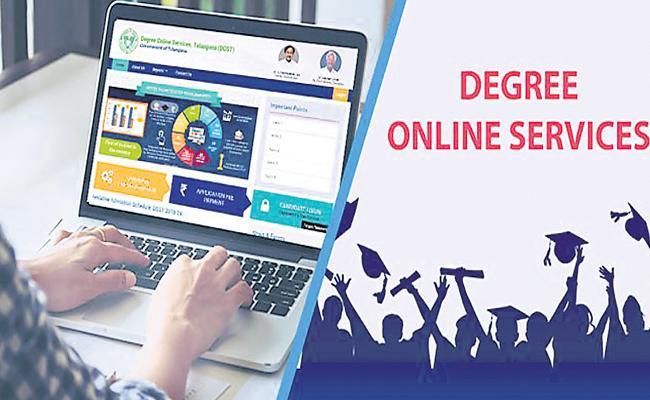 Confusion in Degree Entries in Telangana - Sakshi