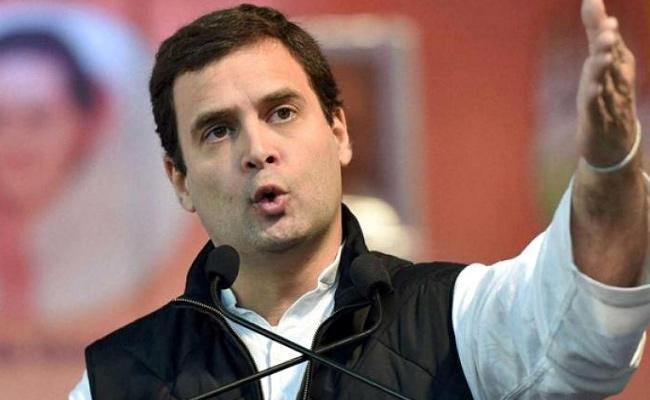 Rahul Gandhi Takes A Jibe At PM Modi - Sakshi
