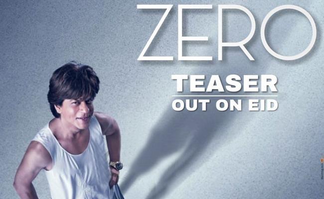 Shah Rukh Khans New Zero Teaser on Eid - Sakshi