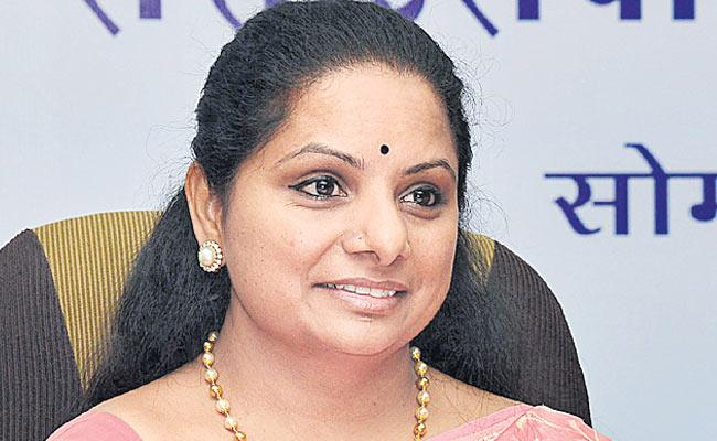 MP Kavitha Write Letter To Railway GM Vinod Kumar - Sakshi