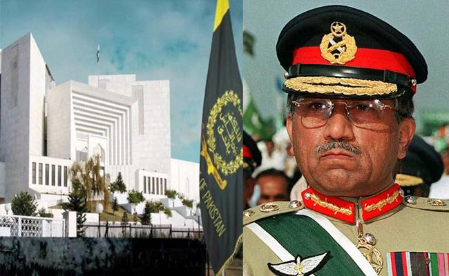 Pak Supreme Court Questioned To Pervez Musharraf How Can A Commando Be So Afraid To Return His Country - Sakshi
