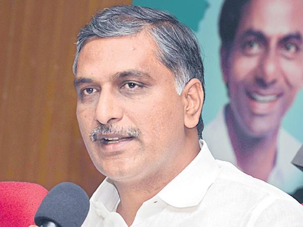 Harish Rao review of Mahbubnagar district projects - Sakshi