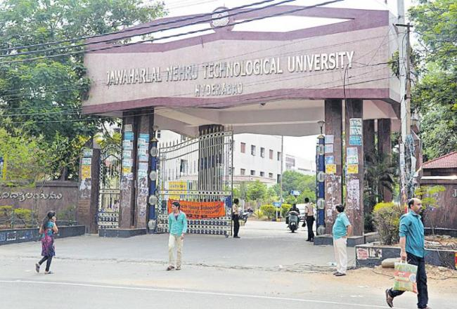 JNTU notebooks for government students - Sakshi