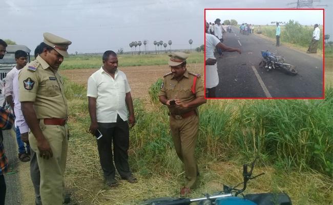 Two Dead In Bike Accident Prakasam - Sakshi