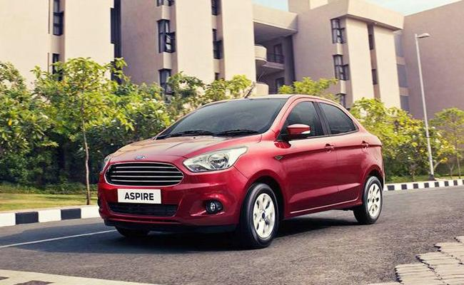 Ford Figo, Aspire Get Discounts Of Up To Rs 1 Lakh - Sakshi