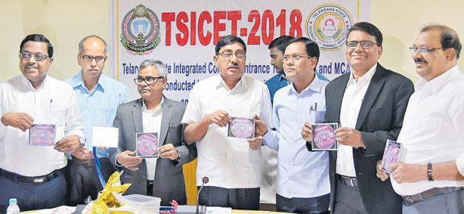 tsICET-2018 Results Release - Sakshi