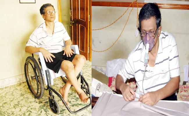 Special Story On Karnataka Tailor Ramesh - Sakshi
