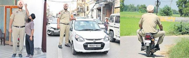 7ft 6in traffic cop from India is the world's tallest policeman - Sakshi