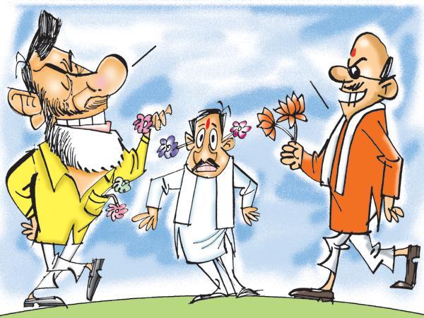 TDP and BJP Political Drama on Kadapa Steel Plant - Sakshi