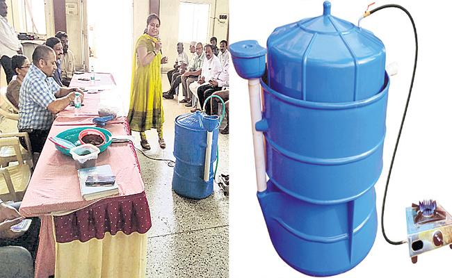 Special Story On Kitchen Biogas In Hyderabad - Sakshi