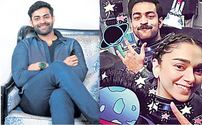 Varun Tej and team wrap up a hectic schedule - Sakshi