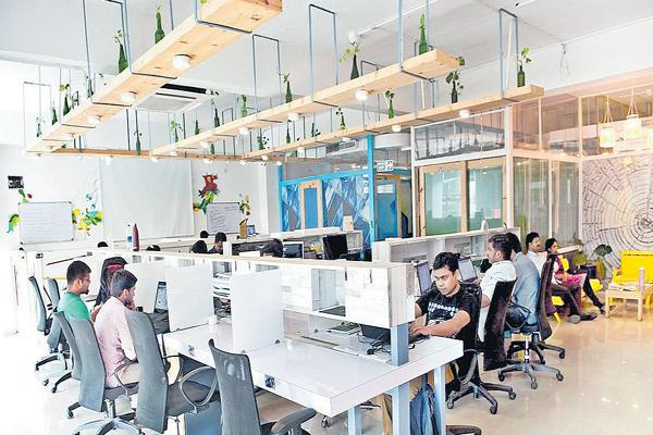 Demand for co-working space! - Sakshi