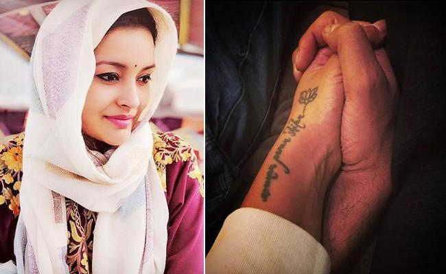 Renu Desai Found Real Love with Mysterious Hand - Sakshi