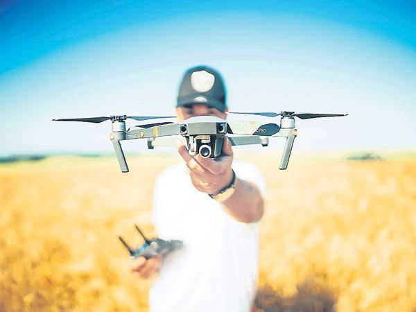 Drones services are preparing in almost all sectors - Sakshi