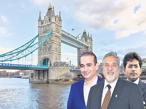 Financial Criminals Destination is London - Sakshi