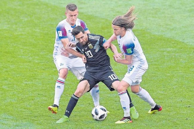 Argentina 1-1 Iceland - Sakshi