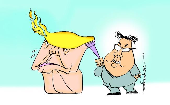 Abk Prasad Writes Opinion For Trump Kim Summit - Sakshi
