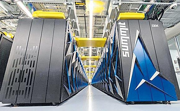 ORNL launches Summit Supercomputer - Sakshi