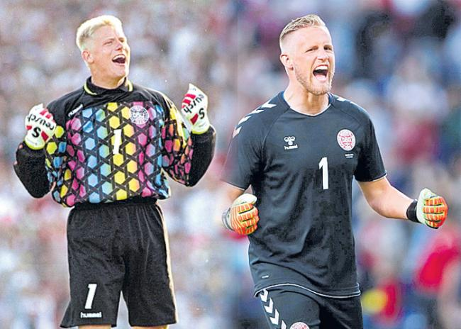 Kasper Schmeichel makes father Peter 'very proud' with Peru display - Sakshi