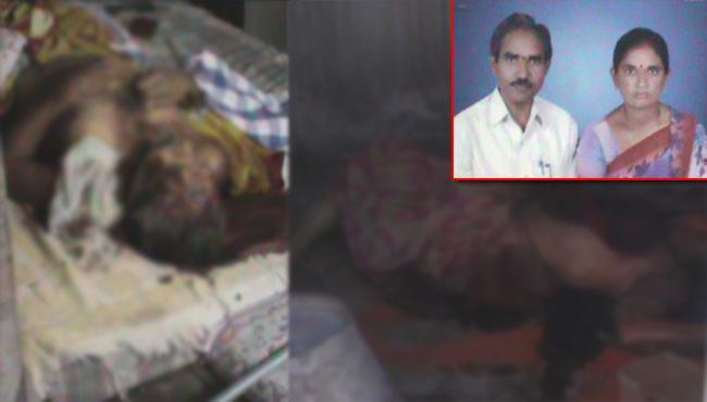 Couple Brutally Murdered in Hasanparthy - Sakshi