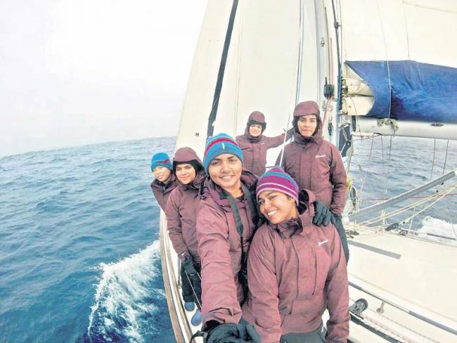 Womens  going 200 days long trip to the ocean - Sakshi