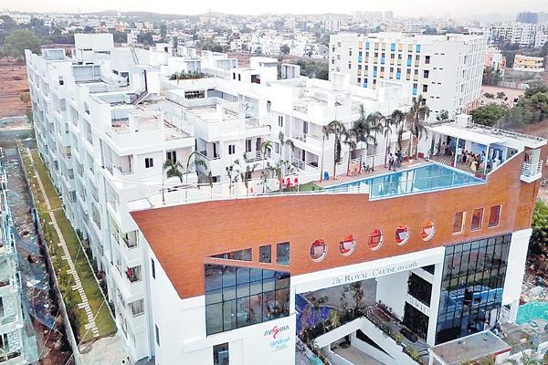 Five star hotels in city - Sakshi