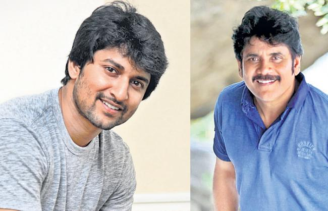 Nagarjuna-Nani gearing up for massive Song - Sakshi