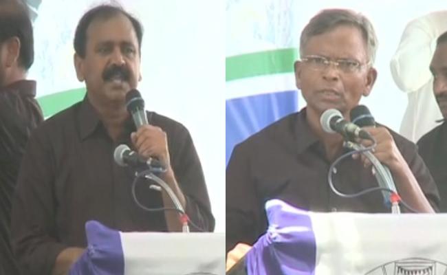 YSR Congress Party Slams Chandrababu On Special Status - Sakshi
