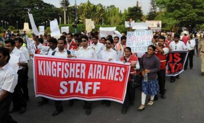 Former Kingfisher Airlines Staff Writes To PM - Sakshi