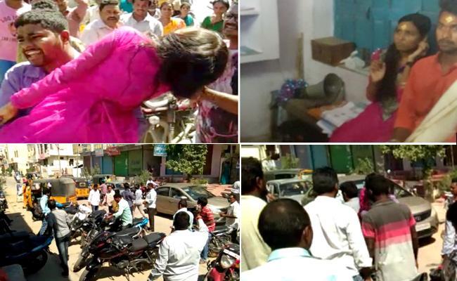 Parents Stops Daughter Marriage In Nizamabad - Sakshi