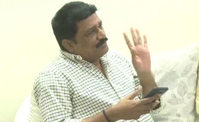 Suspense Continues On Ganta Srinivasa Rao Issue - Sakshi