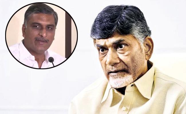 Minister Harish Rao Fires On Chandrababu Naidu Over Kaleshwaram Project - Sakshi