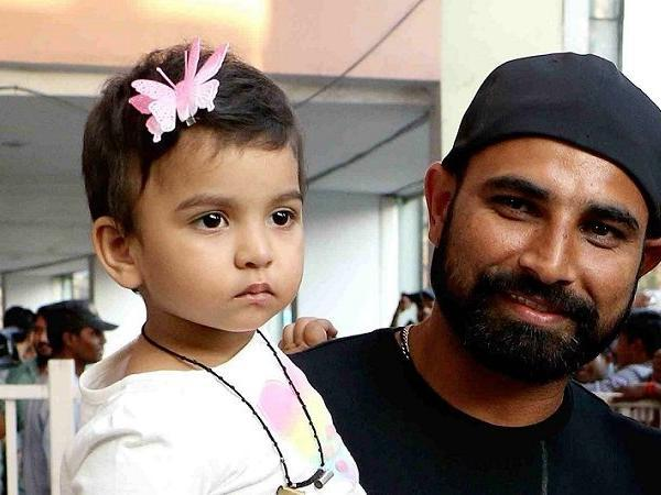 Mohammed Shami leaves a heartfelt message for his daughter - Sakshi
