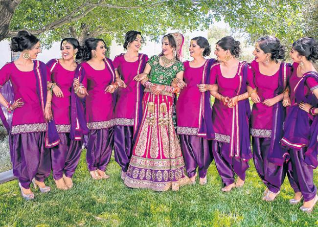 New fashion show  to weeding wear - Sakshi