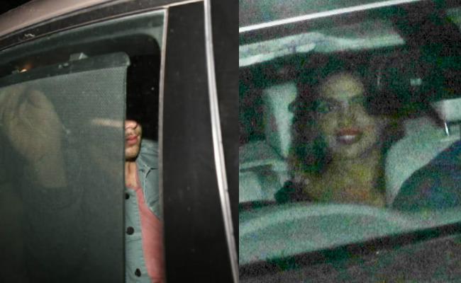 Priyanka Chopra Lands With Nick Jonas In Mumbai - Sakshi