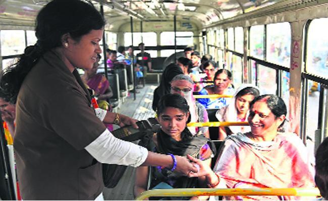 APS RTC Prices Hikes InPallevelugu Busses - Sakshi