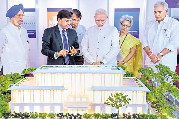 PM seeks double-digit GDP growth, raising India's share in world trade - Sakshi