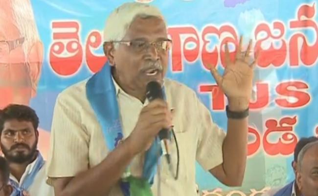 Prof Kodandaram Demands 6 Lakh Ex Gratia For Vemulakonda Accident Families - Sakshi