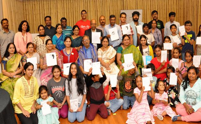 TANTEX conducts Cartoon Workshop with Viswapathi in Dallas - Sakshi